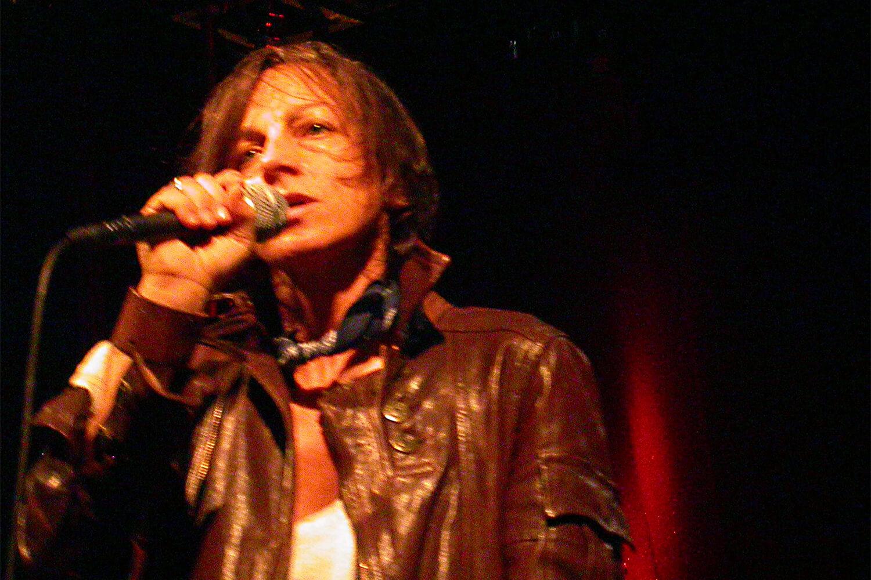 Gianna Nannini sul palco de l'isola in collina 2005